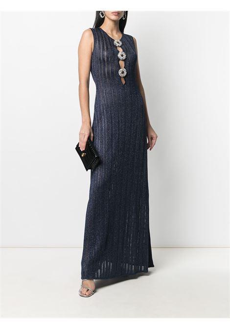 Azzaro Fidele Long Dress Azzaro | 11 | FW20KW176AR12774BLUE