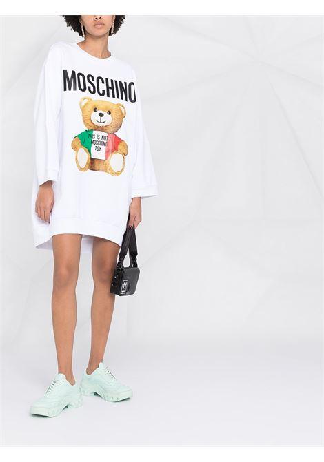 Abito Mini Italian Teddy Bear Moschino Moschino   11   V04155271001