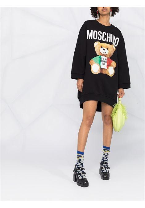 Abito Mini Italian Teddy Bear Moschino Moschino   11   V04155271555