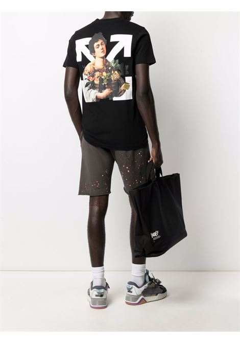 T-shirt Caravaggio Boy Off-White Off-White | 8 | OMAA027S21JER0111001