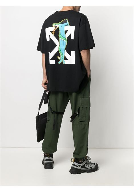 Off-White Adam is Eve T-shirt  Off-White | 8 | OMAA038S21JER0141001
