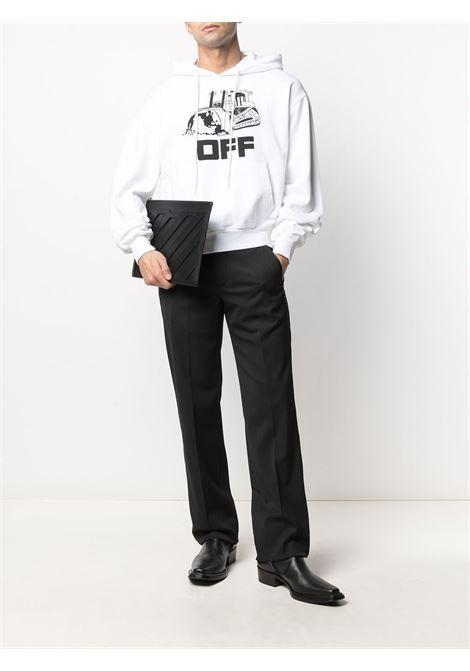 Felpa World Caterpillar Off-White Off-White | -108764232 | OMBB037R21FLE0090110