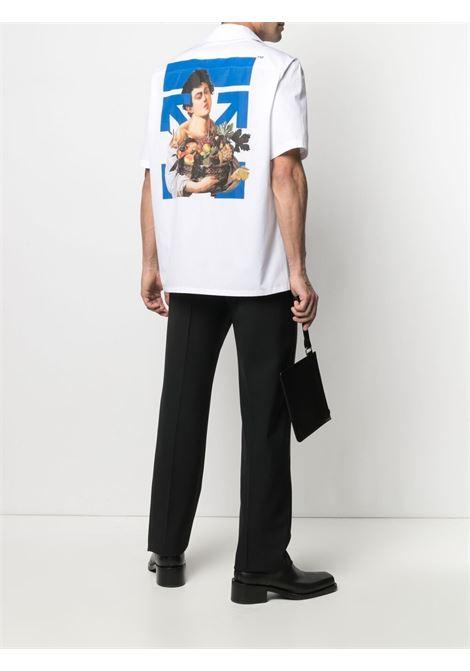 Camicia Caravaggio Boy Off-White Off-White | -1043906350 | OMGA163S21FAB0080145