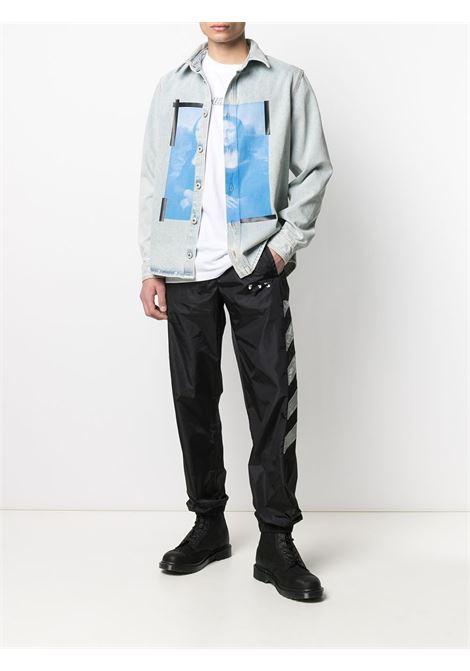 Camicia Monalisa Off-White Off-White | -1043906350 | OMYD027R21DEN0014001