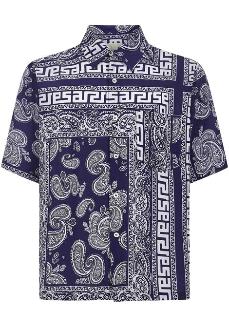Camicia Bandana Print Aries Aries | -1043906350 | SRAR40110NVY
