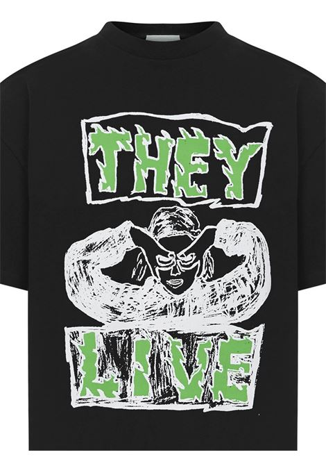 T-shirt They Live Aries Aries | 8 | SRAR60006BLK