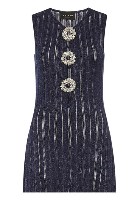 Azzaro Fidele Long Dress Azzaro | 11 | FW20KW176AR12774BLUE