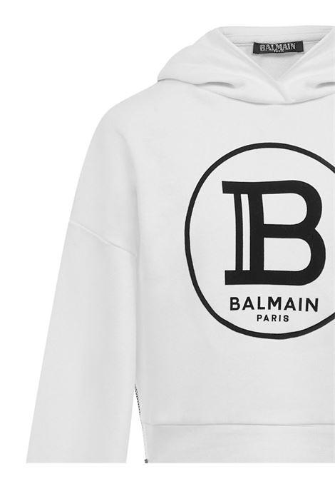 Balmain Paris Kids Sweatshirt  Balmain Paris Kids | -108764232 | 6M4000MX270100