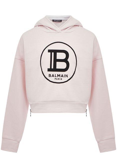 Balmain Paris Kids Sweatshirt  Balmain Paris Kids | -108764232 | 6M4000MX270502