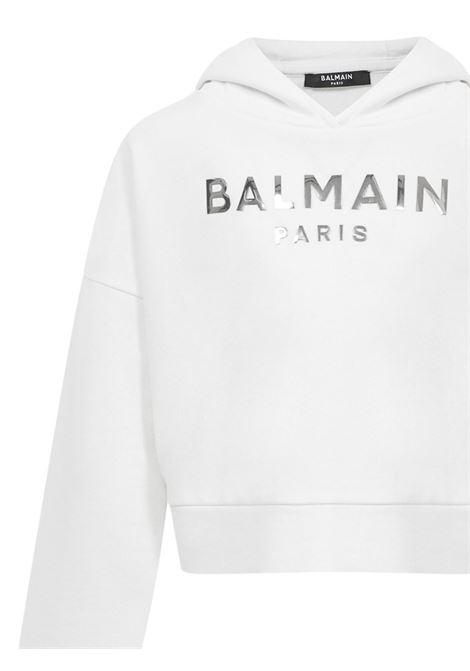 Balmain Paris Kids Sweatshirt  Balmain Paris Kids | -108764232 | 6M4010MX270100