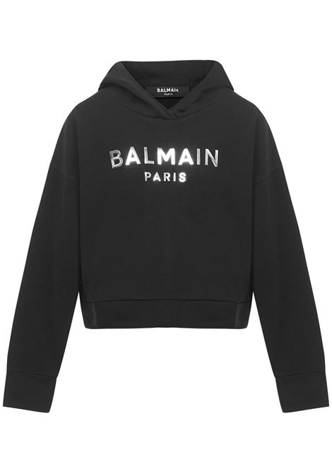 Balmain Paris Kids Sweatshirt  Balmain Paris Kids | -108764232 | 6M4010MX270930