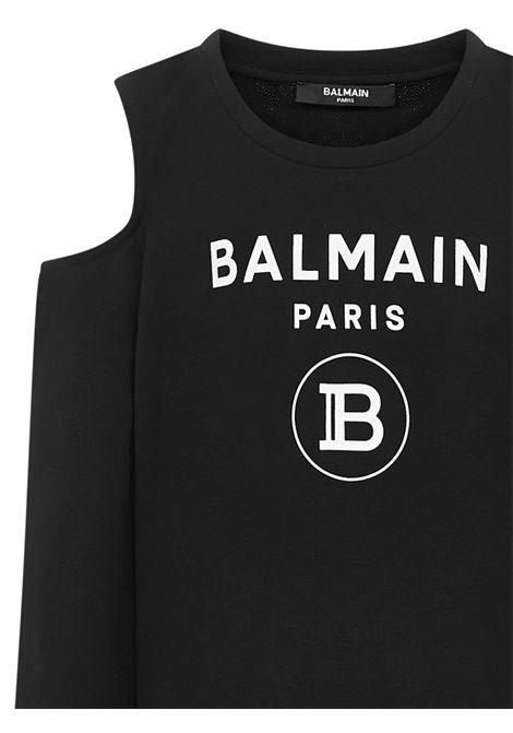 Balmain Paris Kids Sweatshirt  Balmain Paris Kids | -108764232 | 6M4020MX270930