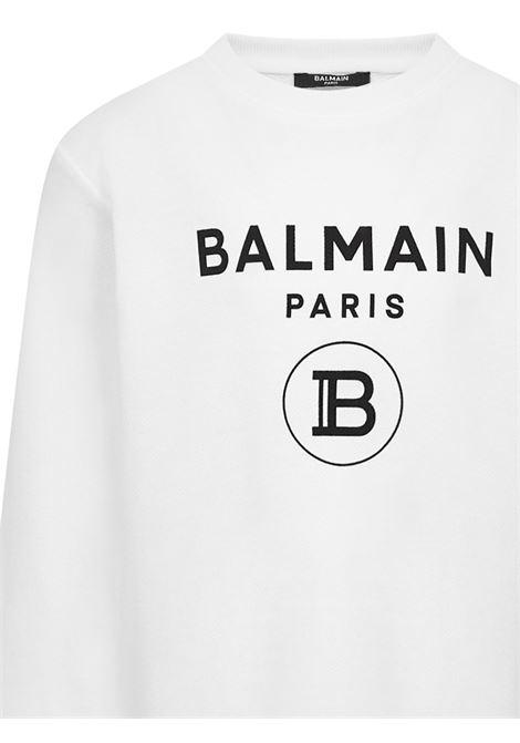Balmain Paris Kids Sweatshirt  Balmain Paris Kids | -108764232 | 6M4760MX270100
