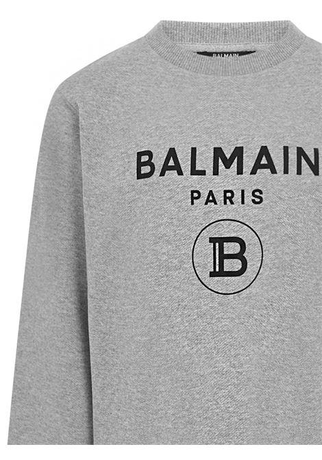 Balmain Paris Kids Sweatshirt  Balmain Paris Kids | -108764232 | 6M4760MX270915