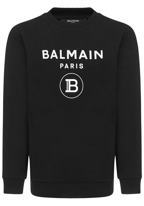 Balmain Paris Kids Sweatshirt  Balmain Paris Kids | -108764232 | 6M4760MX270930