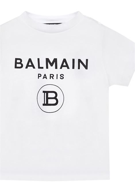 Balmain Paris Kids T-shirt Balmain Paris Kids | 8 | 6M8901MX030100NE