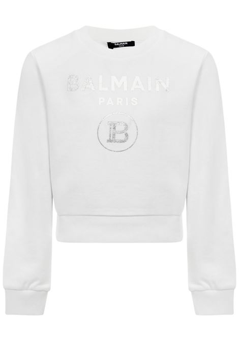 Balmain Paris Kids Sweatshirt  Balmain Paris Kids | -108764232 | 6N4010NX280100
