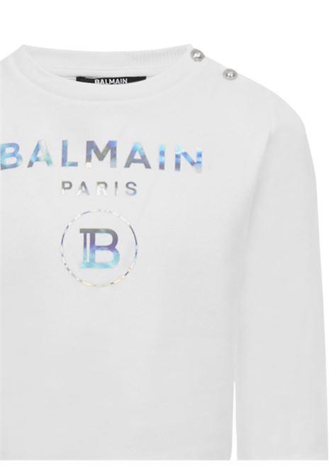 Balmain Paris Kids Sweatshirt  Balmain Paris Kids | -108764232 | 6N4300NX300100