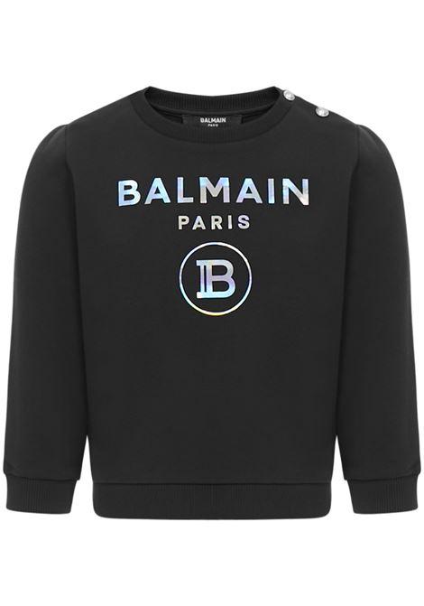 Balmain Paris Kids Sweatshirt  Balmain Paris Kids | -108764232 | 6N4300NX300930
