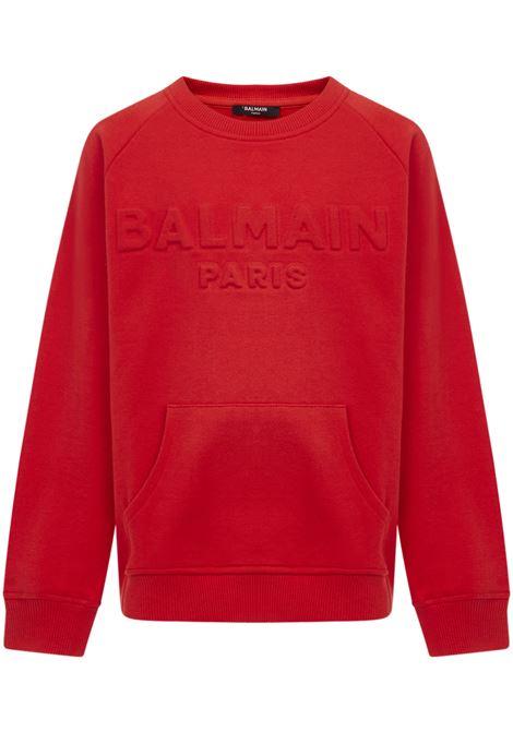 Balmain Paris Kids Sweatshirt Balmain Paris Kids | -108764232 | 6N4700NX300412