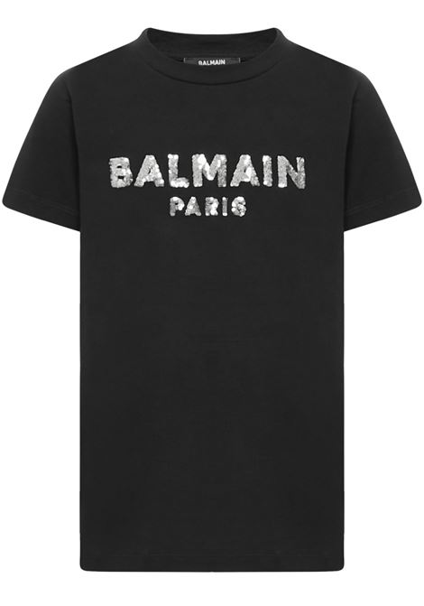 Balmain Paris Kids T-shirt  Balmain Paris Kids | 8 | 6N8041NC610930AG