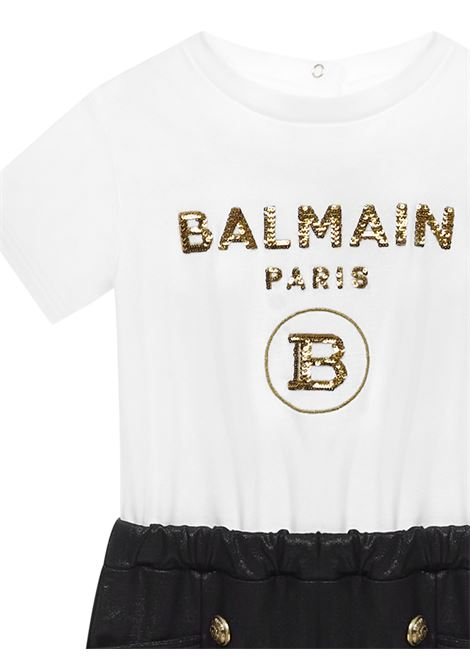 Balmain Paris Kids Romper Balmain Paris Kids | -1763547424 | 6O1849OB690100NE