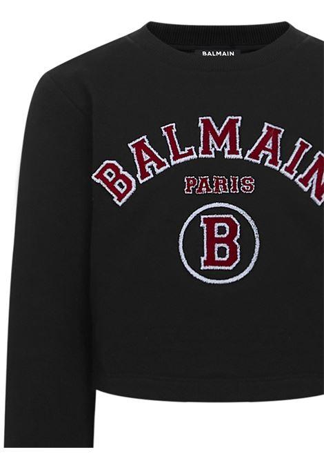 Balmain Paris Kids Sweatshirt Balmain Paris Kids | -108764232 | 6O4030OX370930RO