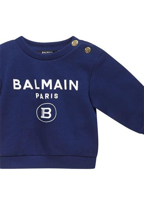 Balmain Paris Kids Sweatshirt Balmain Paris Kids | -108764232 | 6O4A10OX370625BC