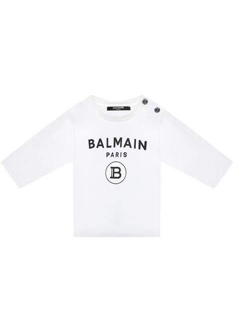 Balmain Paris Kids T-shirt Balmain Paris Kids | 8 | 6O8A208X390100NE