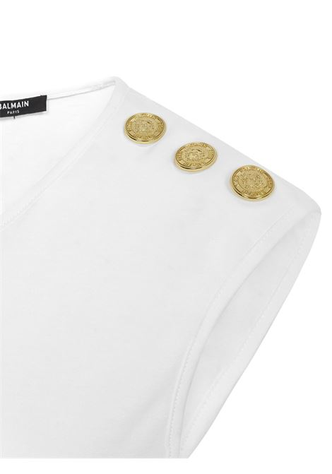 Balmain Paris T-shirt Balmain Paris   8   VF11000B001GAB