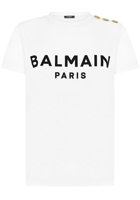 Balmain Paris T-shirt  Balmain Paris   8   VF11350B012GAB