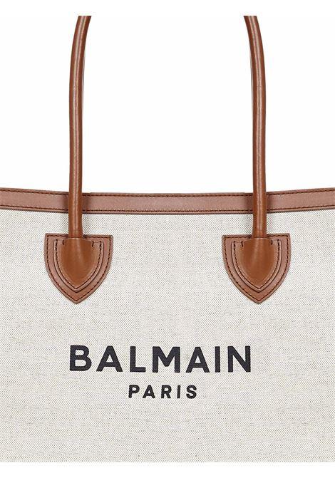 Balmain Paris B-Army 42 Tote Bag Balmain Paris   77132927   VN1S615TCFNGEM