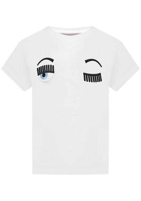 Chiara Ferragni Kids T-shirt Chiara Ferragni kids | 8 | 20PECFKT005WHITE