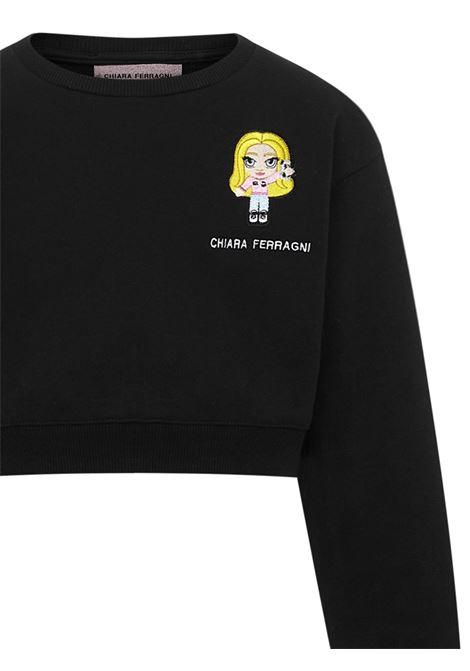 Chiara Ferragni Kids Sweatshirt Chiara Ferragni kids | -108764232 | 21PECFKF062BLACK