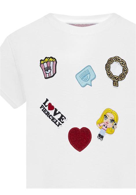 Chiara Ferragni Kids T-shirt Chiara Ferragni kids | 8 | 21PECFKT027WHITE