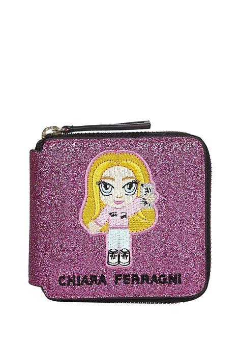 Chiara Ferragni Kids Mascotte Wallet Chiara Ferragni kids | 63 | 21PECFWA005FUCSIA