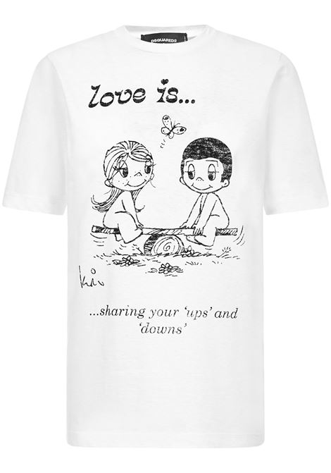Dsquared2 Love Is t-shirt Dsquared2 | 8 | S72GD0252S22507100