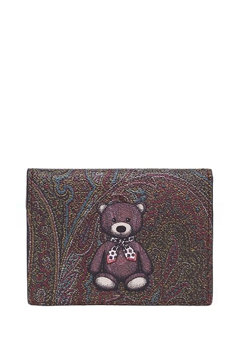 Etro Toys Card holders Etro | 633217857 | 1H6832451600