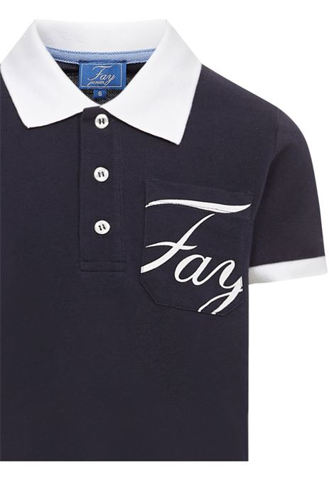 Fay Kids Polo Shirt Fay Kids | 2 | 5M8121MX010621BC