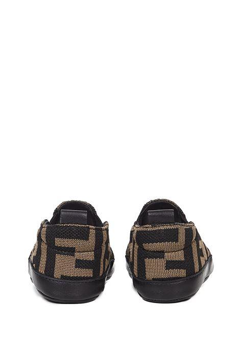 Fendi Kids Sneakers Fendi Kids | 1718629338 | BMR087A6A6F0E0X