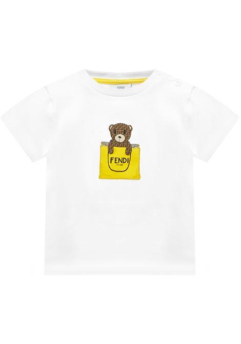 Fendi Kids T-shirt  Fendi Kids | 8 | BUI016ST8F0TU9