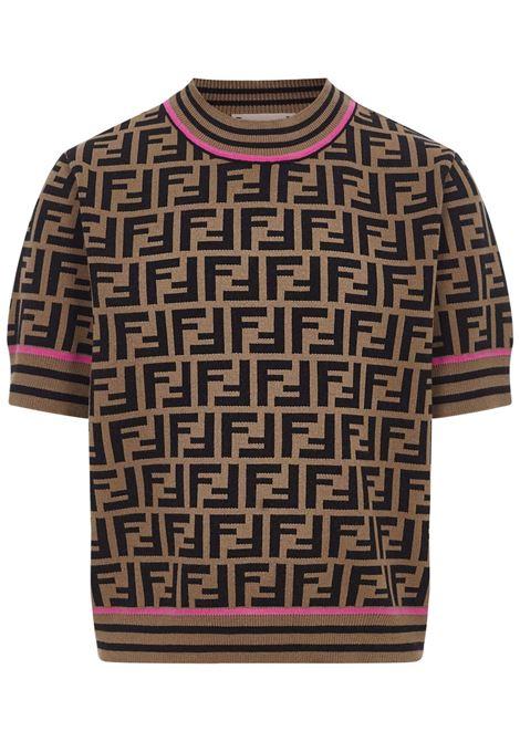 T-shirt Fendi Kids Fendi Kids | 8 | JFG069AEYDF1D8W