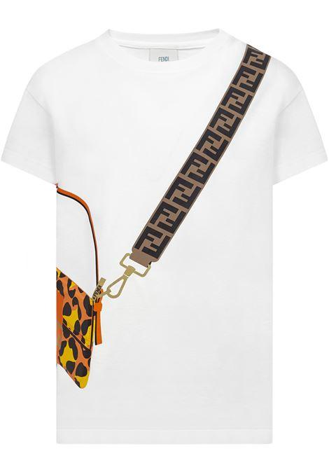 T-shirt Fendi Kids Fendi Kids | 8 | JFI2237AJF0TU9
