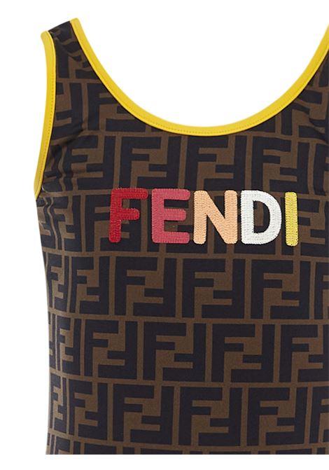 Fendi Kids Swimsuit Fendi Kids | 85 | JFM029AEZ1F1DEU