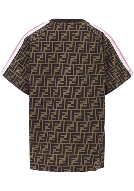 Fendi Kids Zucca T-Shirt Fendi Kids | 8 | JUI015ACZSF1C5E