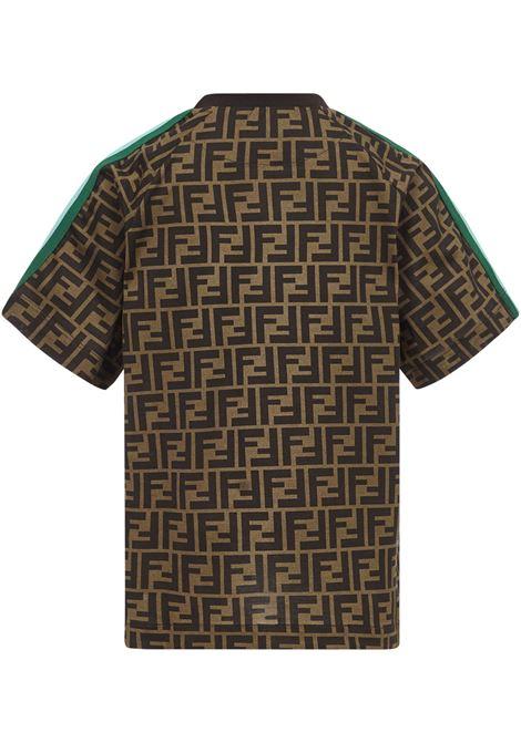 Fendi Kids Zucca T-Shirt Fendi Kids | 8 | JUI015ACZSF1DEP