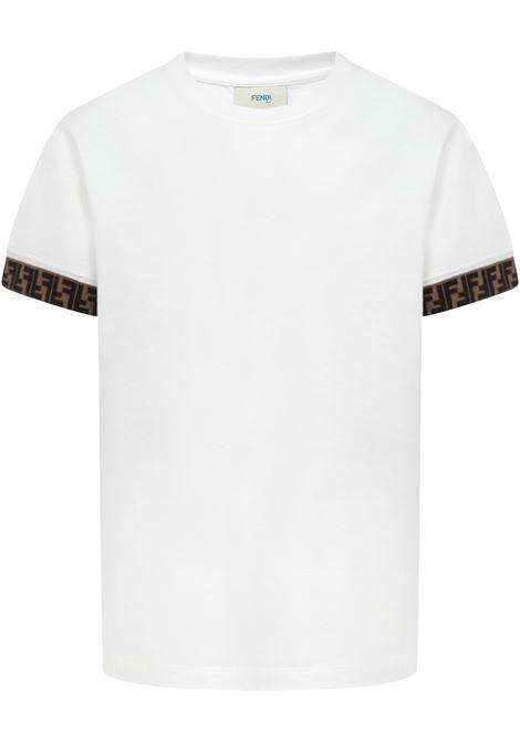T-shirt Fendi Kids Fendi Kids | 8 | JUI0187AJF0TU9