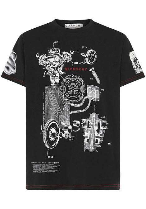 T-shirt Schematics Givenchy Givenchy | 8 | BM710Q3002001