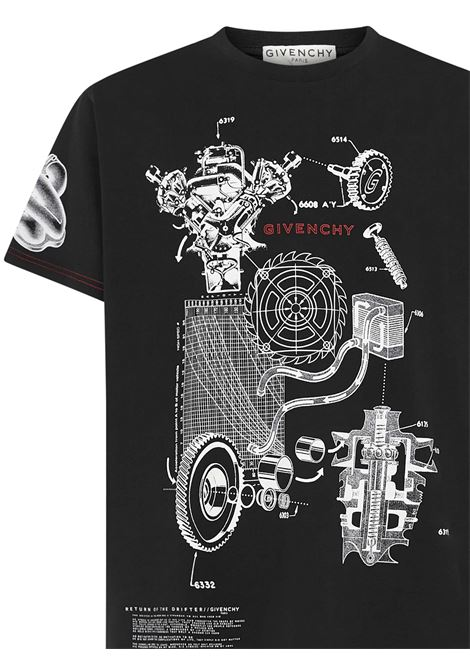 Givenchy Schematics T-shirt Givenchy | 8 | BM710Q3002001