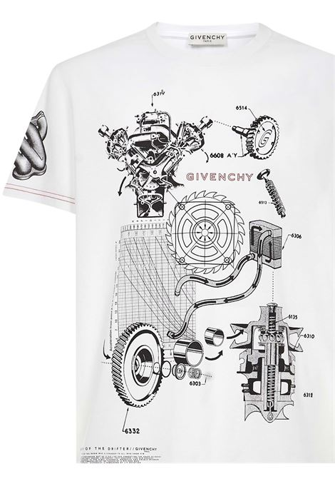Givenchy Schematics T-shirt Givenchy | 8 | BM710Q3002100